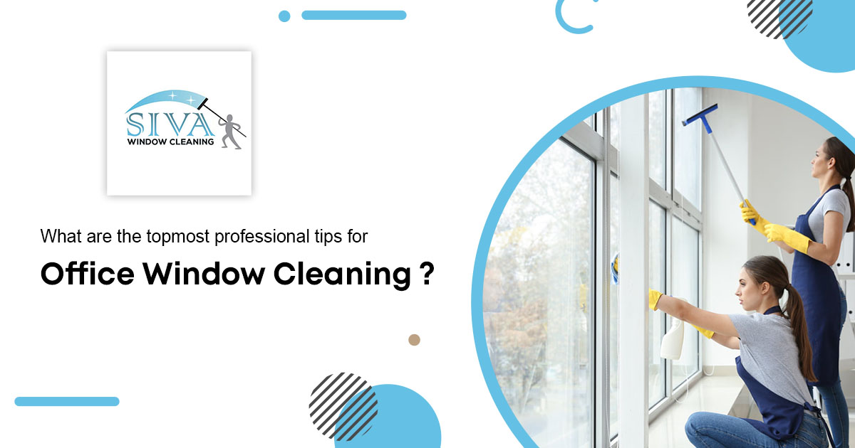 for office window cleaning